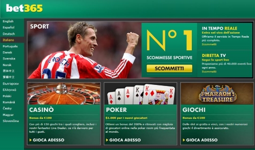 bet365.it aams italia
